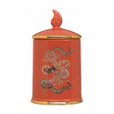 Etro Ceramic Candle Snake Red