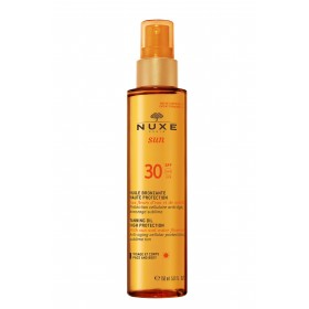 NUXE Sun Tanning Oil High Protection Spf 30